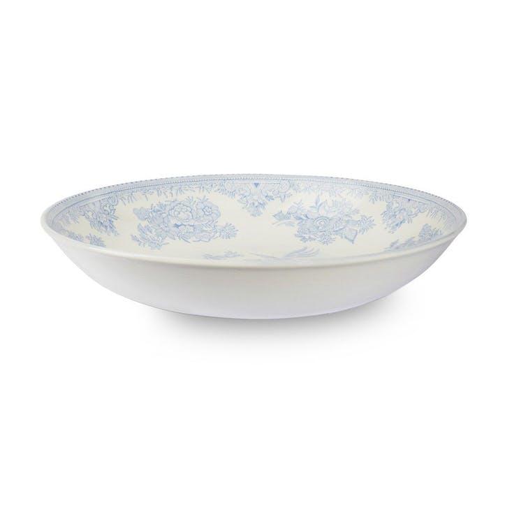 Asiatic Pheasants Pasta Bowl, 22cm, Blue