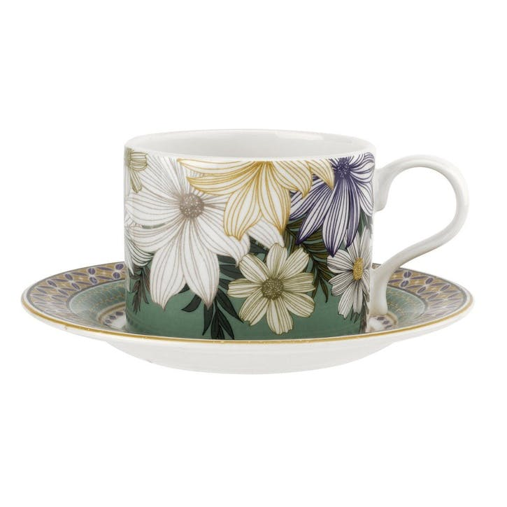 Atrium 10oz Tea Cup and Saucer