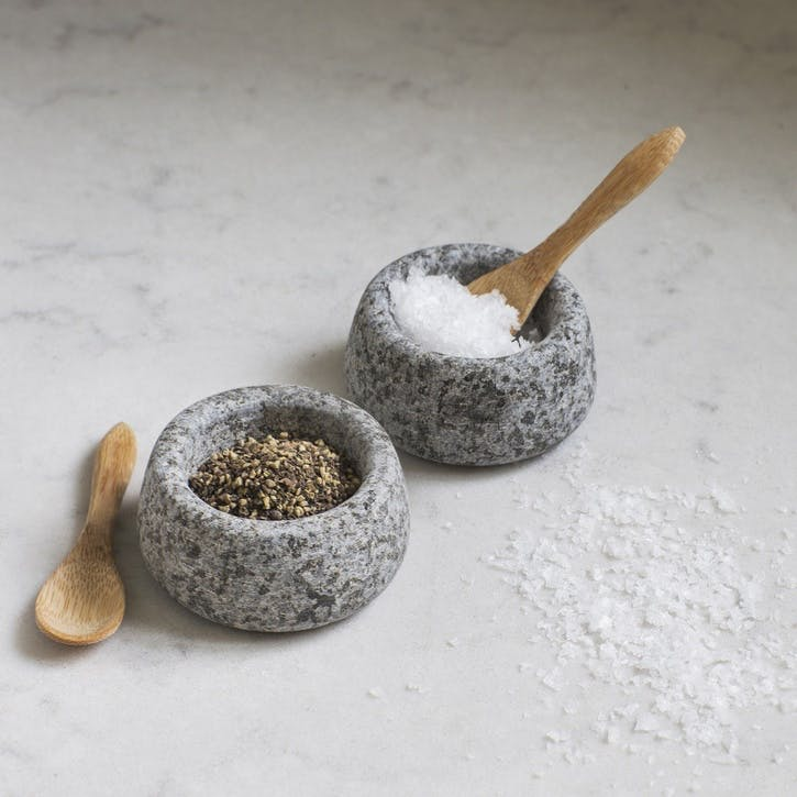 Salt and Pepper Pots, Granite