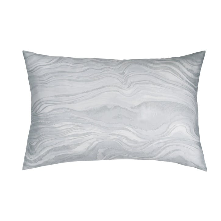 Marble Single Housewife Pillowcase, Grey