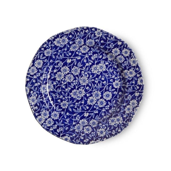 Calico Plate, 19cm, Blue
