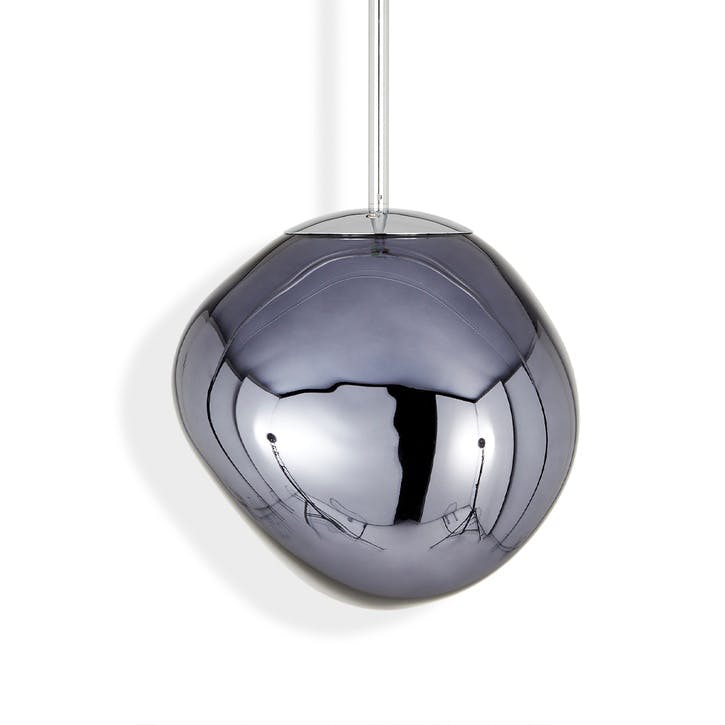 Melt Mini Pendant Light, Smoke