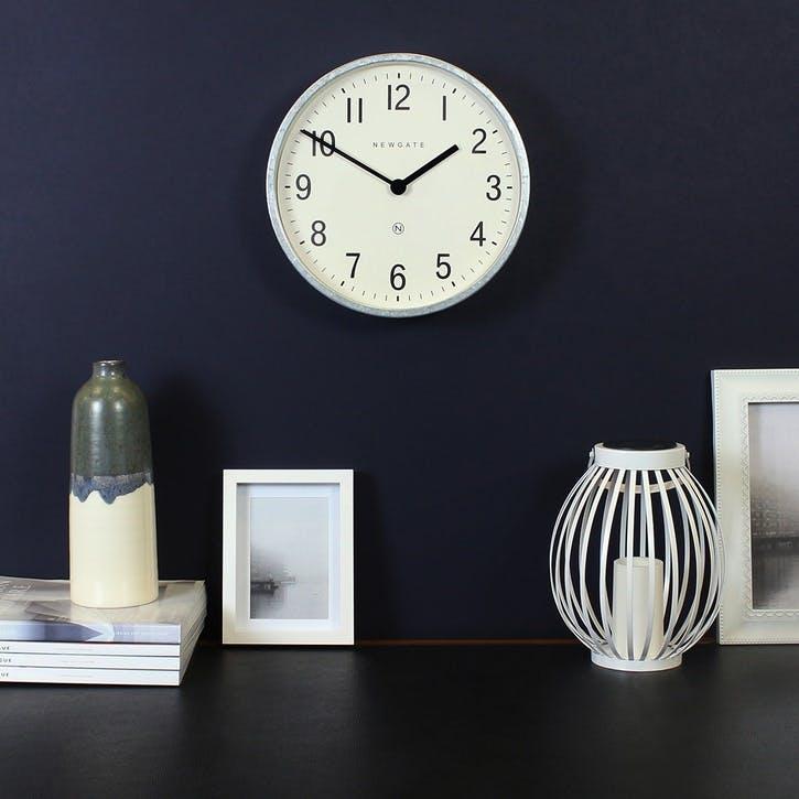 Master Edwards Wall Clock, Dia. 30cm, Steel