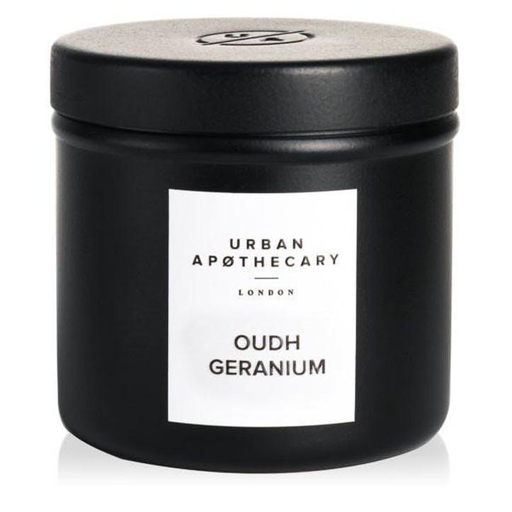 Oudh Geranium Travel Candle, 175g