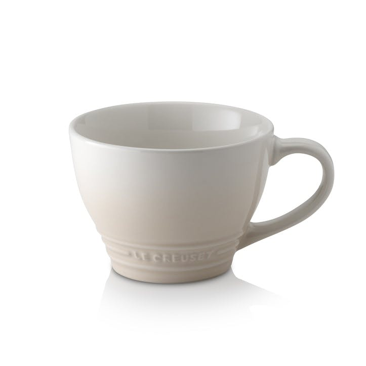 Stoneware Grand Mug, Meringue