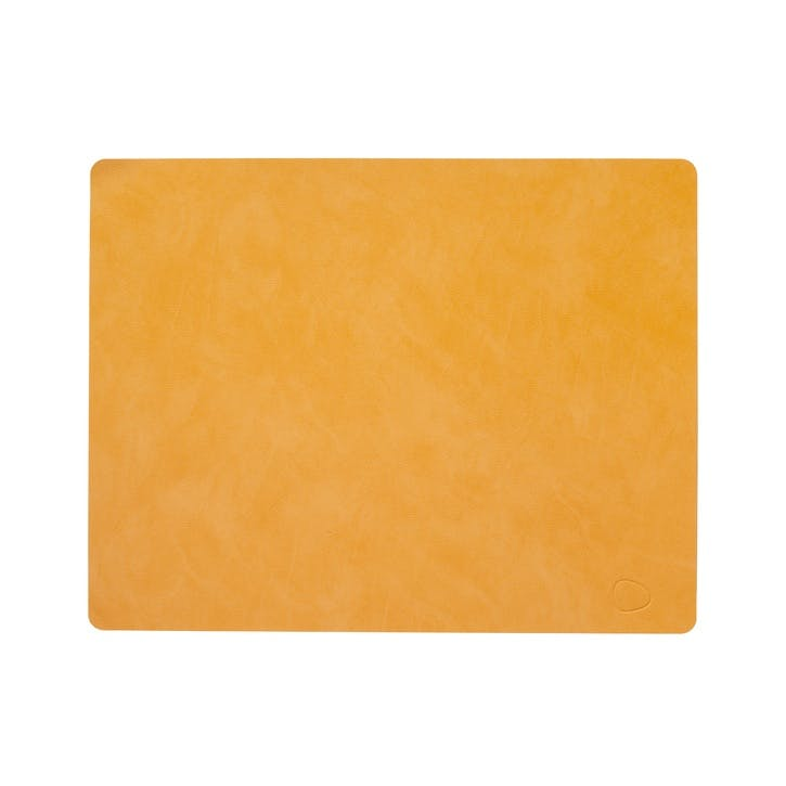 Rectangular Placemat, Set of 4, Burned Curry