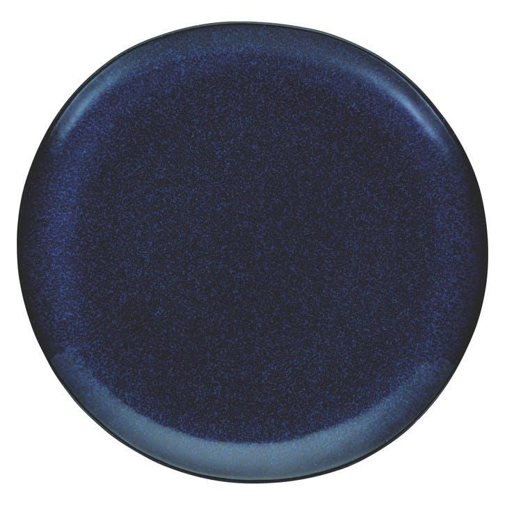 Olmo Dinner Plate, Dark Blue