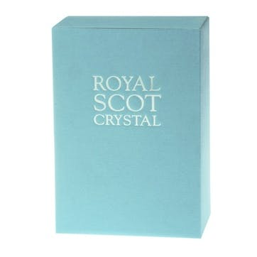 Diamonds Tall Crystal Tumblers, Set of 2