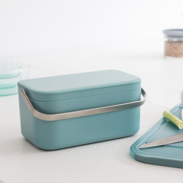 Food Waste Caddy, Mint