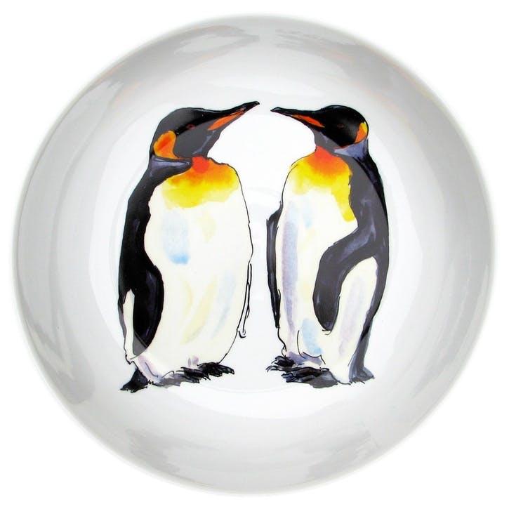 King Penguins Round Bowl - 24cm