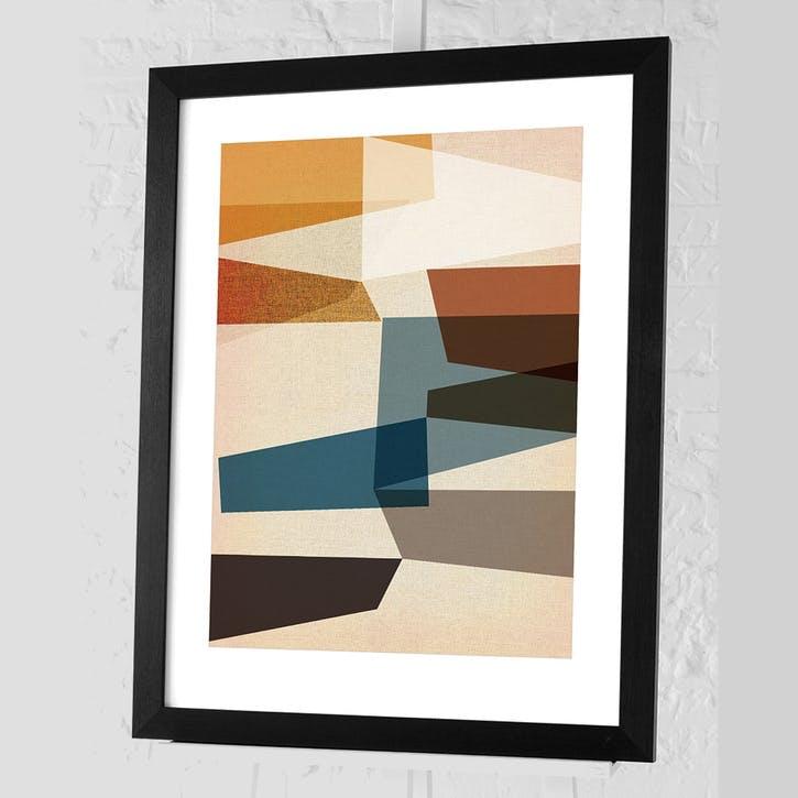 Nicola Evans Mid-Century Modern III Framed Print - 68 x 88cm