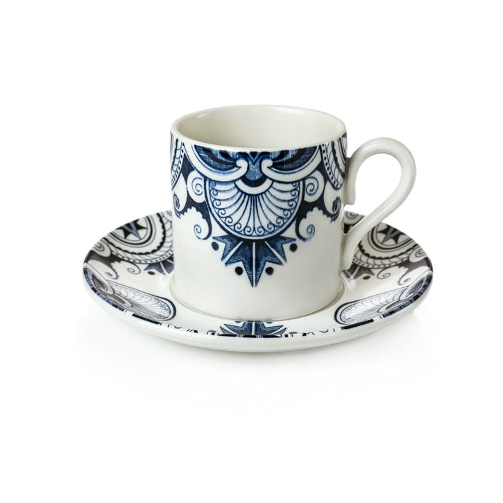 Palisade Coffee Cup and Saucer