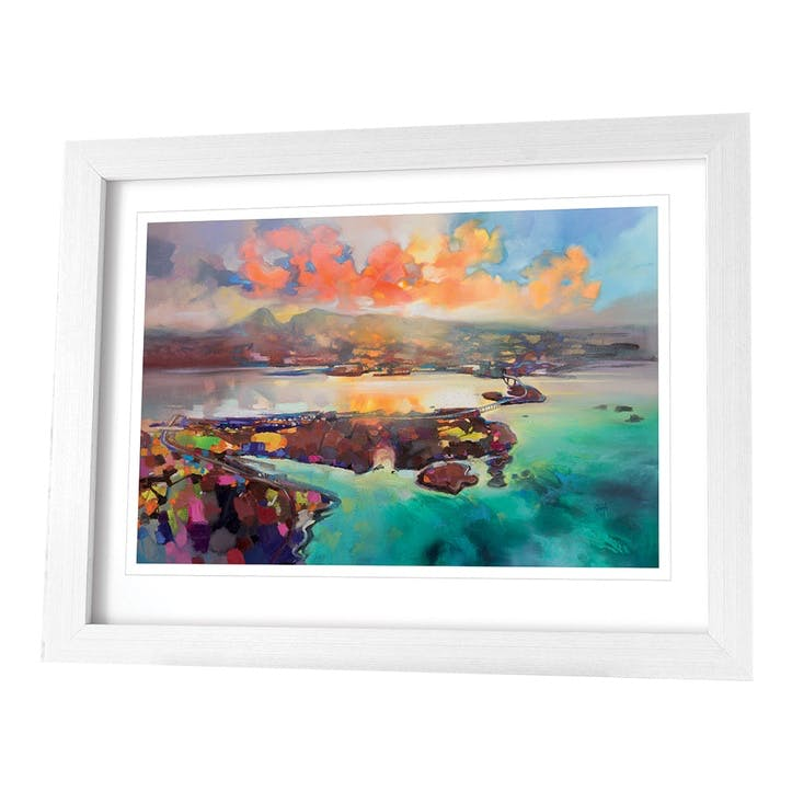Scott Naismith Skye Bridge Framed Print, 71 x91cm