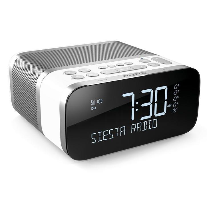 Siesta S6 DAB Alarm Clock Radio, Polar