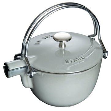 Cast Iron Teapot, Graphite Grey