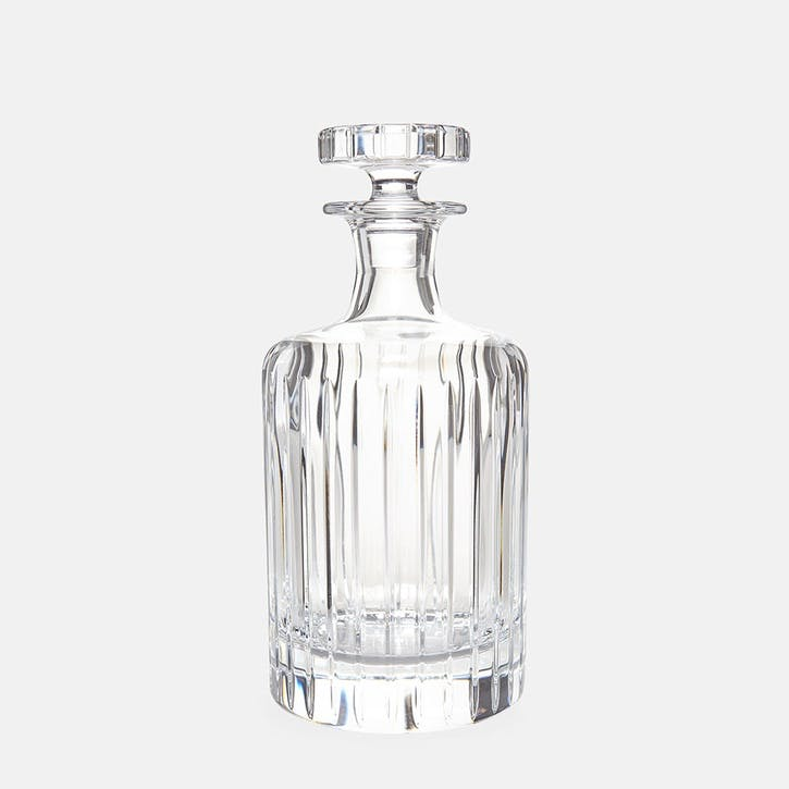Roebling Cut Crystal, Small Decanter, Clear