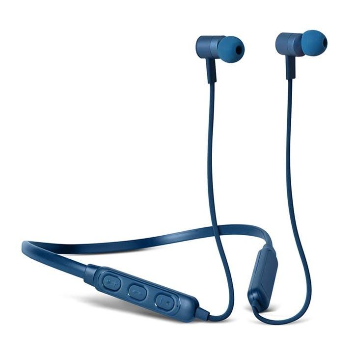Band It BlueTooth Earphones; Indigo