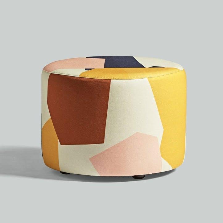 Longis, Roger Lewis Collaboration, Pouffe, H39 x W50cm, Fragment
