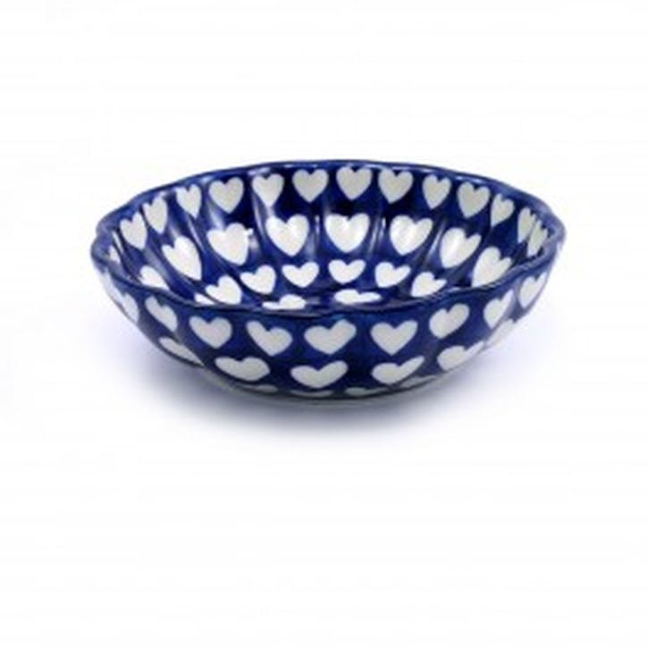 Hearts Frilled Bowl, 15.5cm