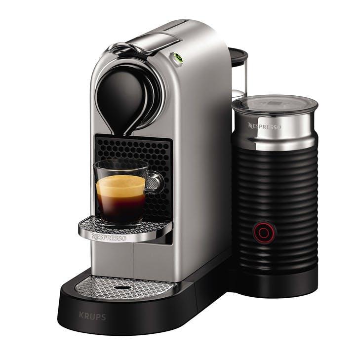 Nespresso CitiZ&Milk, Silver