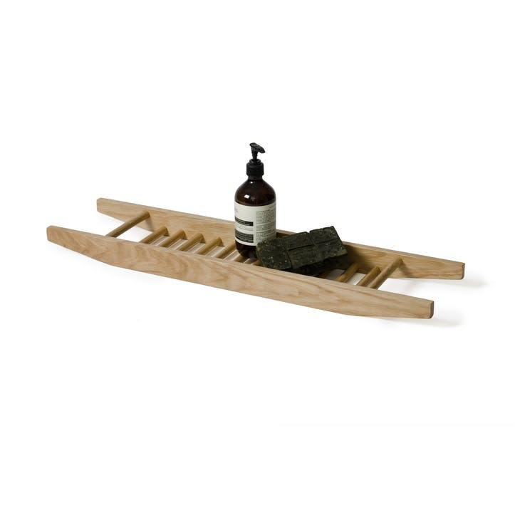 Studio Bath Bridge, Natural Oak
