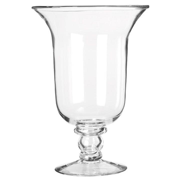 Glass Hurricane Lamp, Large