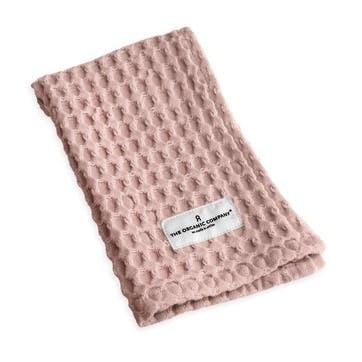 Waffle Wash Cloth, L40 x W25cm, Pale Rose