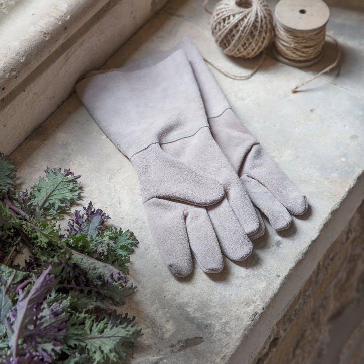 Gauntlet Gloves, Natural