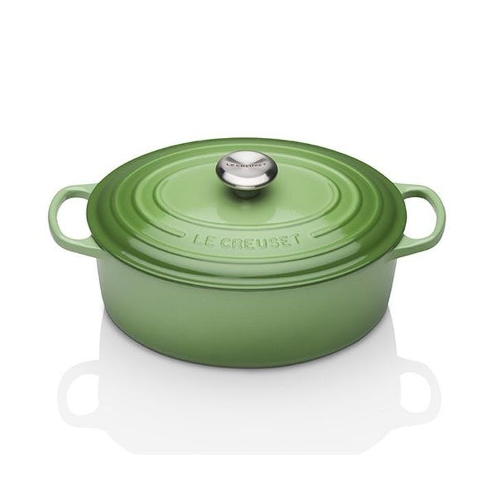 Cast Iron Oval Casserole - 29cm; Rosemary