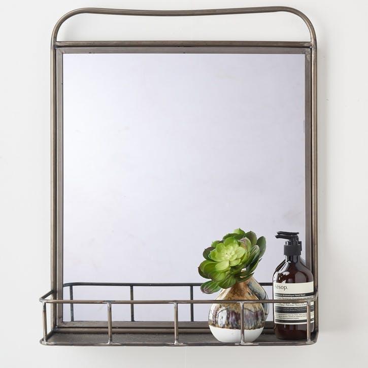 Industrial Metal Mirror