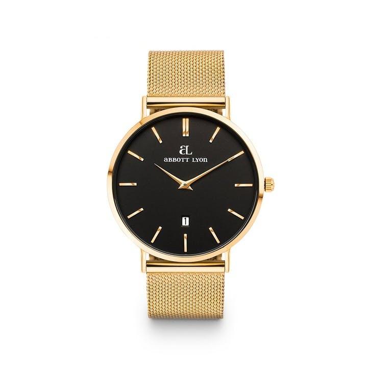 Kensington Chain 40 Watch, Gold
