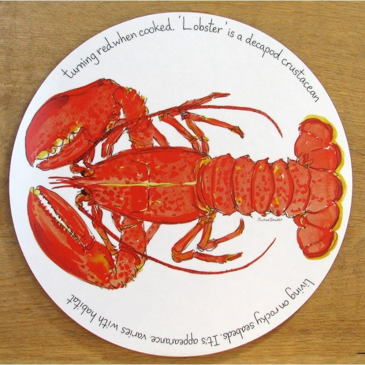 Red Lobster Tablemat - 28cm