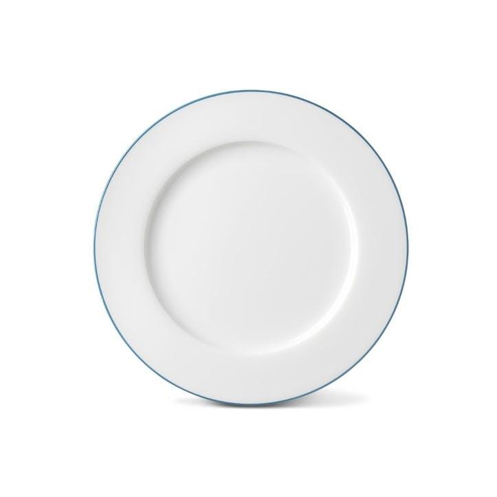Rainbow Dinner Plate, Teal