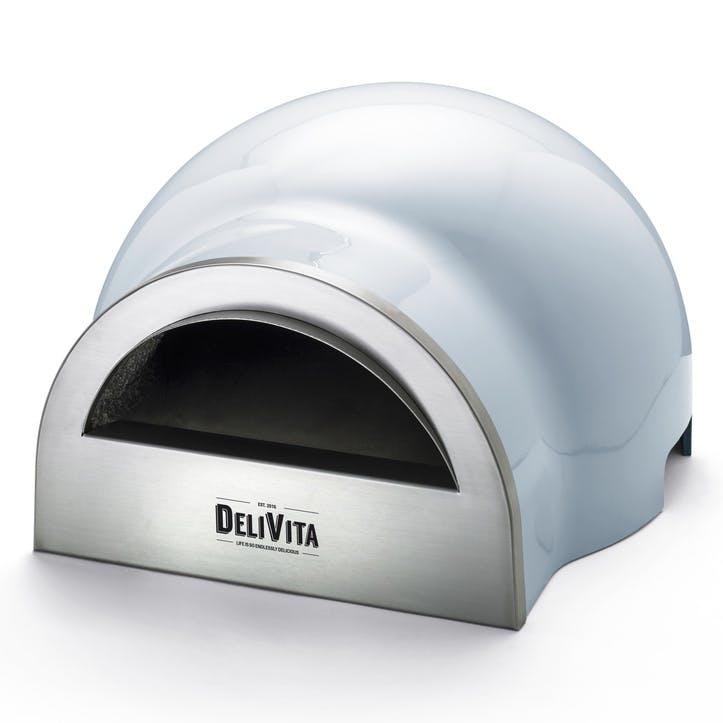 Delivita Outdoor Oven; Vintage Blue
