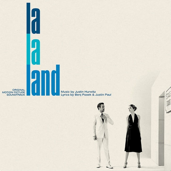 "La La Land Original Soundtrack 12"" Vinyl"