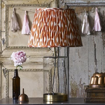 Larger Wisteria Table Lamp in Clear Glass, 46cm