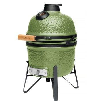 Ceramic BBQ and Oven, Small, Green