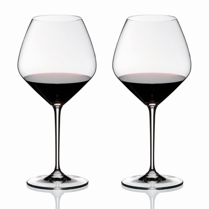 Vinum Pinot Noir (Burgundy Red), Set of 2