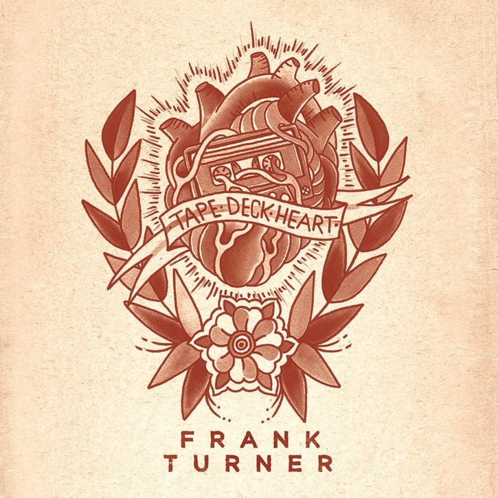 "Frank Turner, Tape Deck Heart 12"" Vinyl"