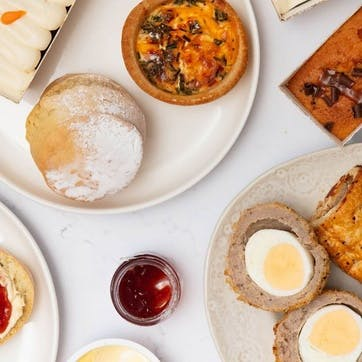 Afternoon Tea for Two Home Delivered by Piglets Pantry with Six Handcrafted Cocktails from Tapp'd