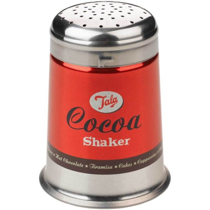 Retro Cocoa Shaker, Red