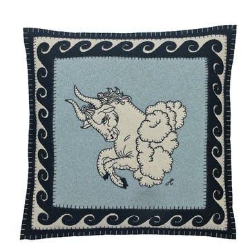 Taurus Cushion, 46 x 46cm, Multi