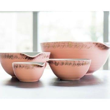 John Whaite Nesting Bowl, Set of 3, Pink