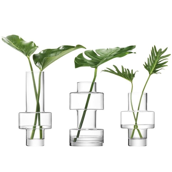 Metropole City Vase, Set of 3