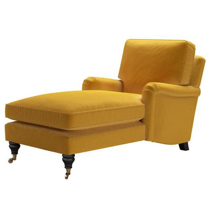 Bluebell Day Bed, Butterscotch Cotton Matt Velvet