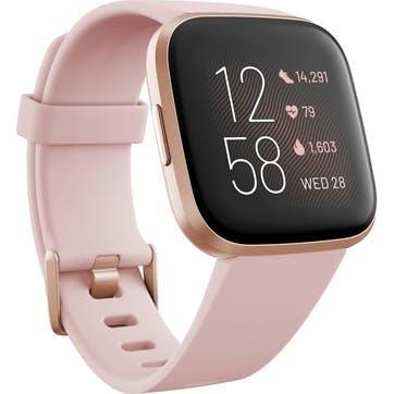 Versa 2 Smart Watch, Pink