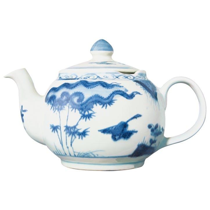 Kraakware Teapot