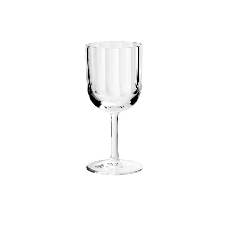 Fluted Dessert Wine Glass