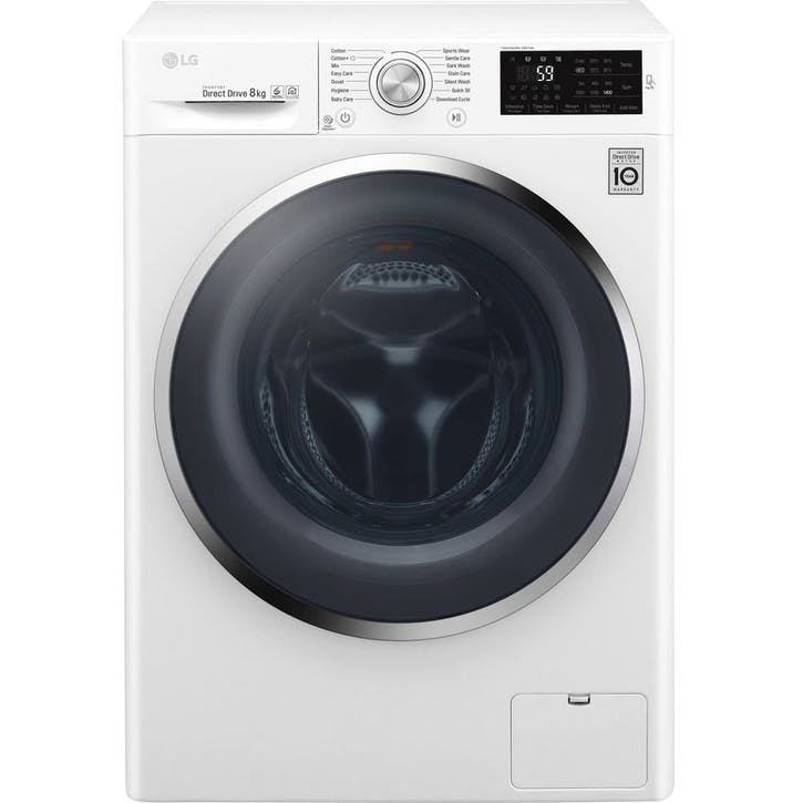 F4J6TN2W 8kg 1400 Spin Washing Machine; White
