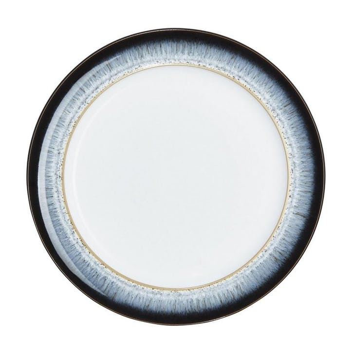 Halo Dinner Plate, 28cm, Black/ Blue